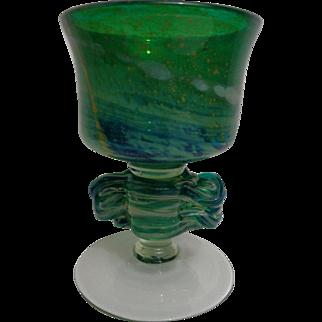 Mdina Art Glass (Malta) Chalice Vase