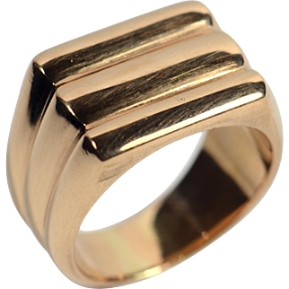 18kt Gold Ring c. 1940