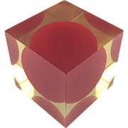 Cubo 3018A by Enzo Mari for Danese Modernist Sculpture c.1959