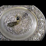 French bronze vase / dish