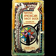SALE - Vintage Native American Tarot Card Deck