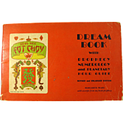 Vintage Gong Hee Fot Choy Fortune-Telling Booklet 1948