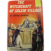 Shirley Jackson, The Witchcraft of Salem Village (1956 HC with DJ)