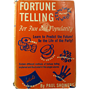 1947 Fortune Telling For Fun & Popularity Book