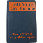 1929 Tell Your Own Fortune Book
