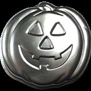 Vintage Wilton Jack-O-Lantern Halloween Cake Pan 1981