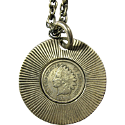 1906 Lucky Indian Head Penny Necklace