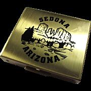 1950s Sedona Arizona Souvenir Coin Box