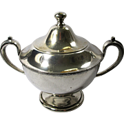 Sheffield Plate Antique Silver Sugar Bowl
