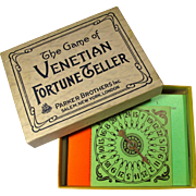 1920s Venetian Fortune Teller Card Game by Parker Brothers