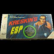 Vintage Kreskin's ESP Fortune Telling Board Game