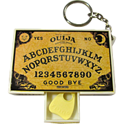 Vintage Ouija Board Keychain With Tiny Planchette In Drawer