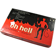 "1973 ""Oh Hell"" Card Game"