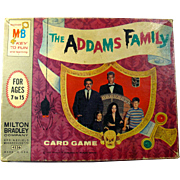 1965 The Addams Family Card Game