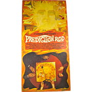 1970 Prediction Rod Clairvoyance Board Game