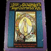 1973 Love Astrologer's Togetherness Kit With Book & Card Deck