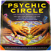 Vintage Psychic Circle Magical Message Board Game