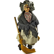 1985 Hearth Witch Doll With Stand by Faith Wick Originals for Effanbee