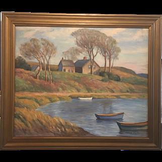 """The Old McKay Farm"" (Cape Cod, MA) by Harold Dunbar"