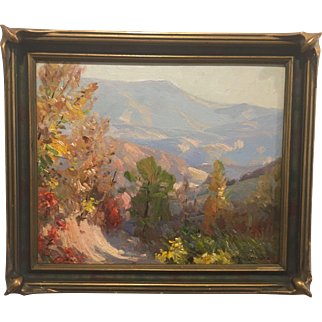 """""""In the Smokies"""" by Paul Turner Sargent (1880-1936)"""