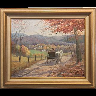 """""""Honeymoon Express"""" by Louise W. Wilkinson (1899-unknown)"""