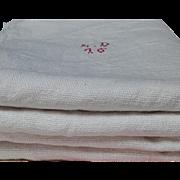 Bolt of Antique French Hemp Linen Long Chanvre Runner fabric 1850