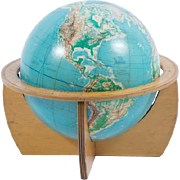 Cartokraft visual-relief 16 globe 1961