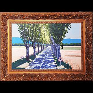 Original David Ashwell oil painting Dappled Light