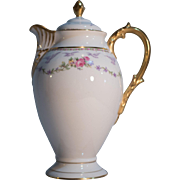 Delinieres & Co. Limoges Chocolate Pot
