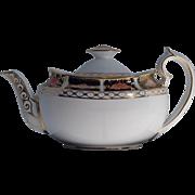 Imari Border, Royal Crown Derby Teapot, Pattern 845, Dated 1912