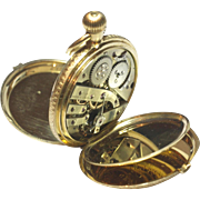 Vacheron Constantin Gold Pocket Watch With Original Bill Of Sale 1874