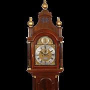 Samuel Hodges, London High Style Mahogany Longcase Clock C. 1770