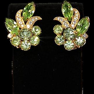 Eisenburg Ice rhinestone earrings