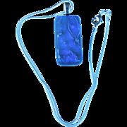Artisan Dichroic translucent Fused Glass Pendant