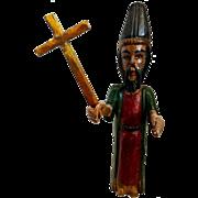 Large Vintage Mexican Santo Wood Figure