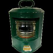 Vintage Marine German Lantern Ahlemann Schlatter Bremen