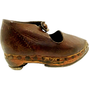 Leather Children's Shoe