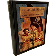 1941 Treasure Island Book w/ misprint error.