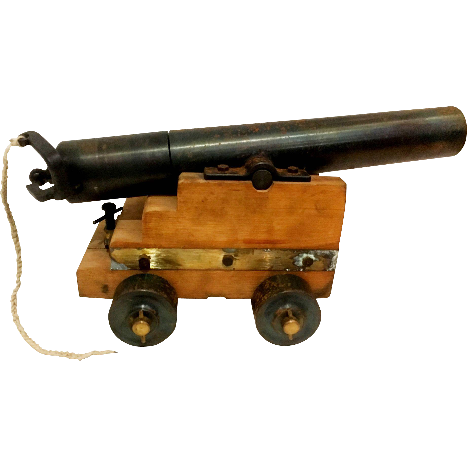 Vintage Small Firing Cannon