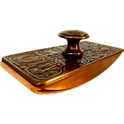 Tiffany Studios New York Bronze Zodiac #990 Blotter