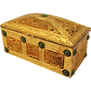 Tiffany Studios Ninth Century 1624 Stamp Box