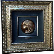"After Pierre-Auguste Renoir (French, 1841-1919), ""Medallion de Coco"""