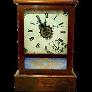 Antique Waterbury Clock Company Mantel Clock. Mid 19th century.