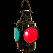 Vintage CPR HLP Piper Caboose Railroad lantern