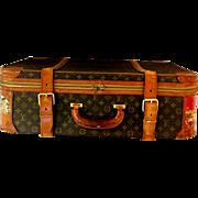 Louis Vuitton Vintage Authentic 1970s Suitcase