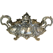 Antique Art Nouveau French Metal Depose Jardiniere