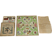 The old Biedermeier Münchhausen game * litho. & Hand colored * G. Neiff Nuremberg 1850