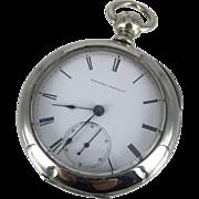 Elgin Key Wind and Key Set Pocket Watch W.C. Ferry Model Circa 1876