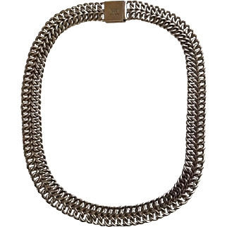 925 Silver Chain Link Necklace