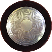 Late 1800's Sterling Silver Patch Box or Snuff Box